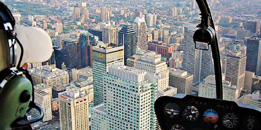 $99 -- Helicopter Tour over Montreal, Reg. $299