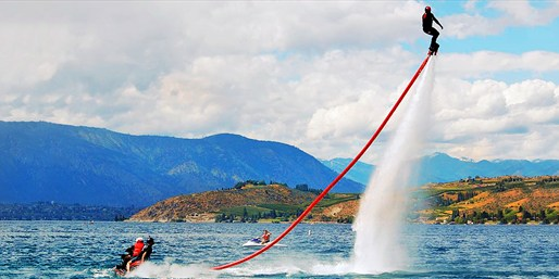 $99 -- Flyboard on Lake Washington w/GoPro Video, 50% Off