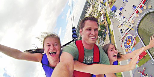 $26 & up -- Fun Spot: Skycoaster & Unlimited Ride Pass