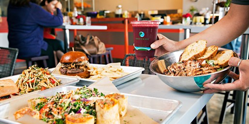 $20 -- Bru's Counter: Gourmet 'Comfort Food' for 2, Half Off