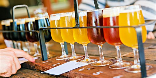 $29 & up -- Beer Tours w/Tastings & Food, Reg. $49