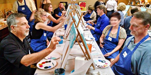$19 -- Two-Hour BYOB Painting Class in Katy, Reg. $35