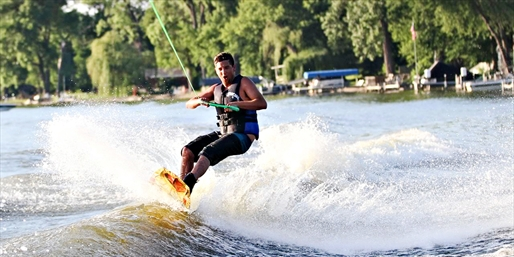 $39 & up -- Wakeboarding Lessons on the Fox River