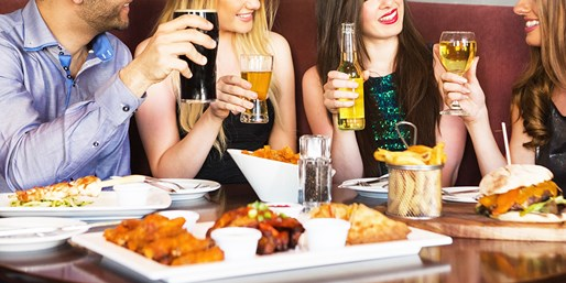 $15 & up -- 'Best' Sports Bar: Lunch or Dinner for 2 w/Beers