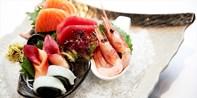 ¥398 -- 明星日料 创意欧风 永嘉路 Fount 双人特色日本料理 午晚通用
