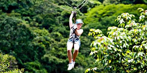 $99 -- Salamander Resort: Treetop Zip-Line Tour, Reg. $164
