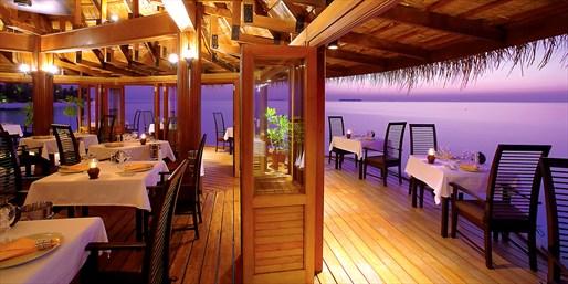 4折 马尔代夫微拉瓦鲁悦椿度假村2晚 含半包餐 往返水上飞机