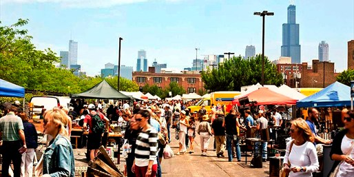 $10 -- Randolph Street Market: Admission for 2, 50% Off