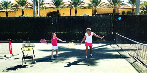$99 -- Eau Palm Beach: Tennis Lessons thru Fall, Save $220