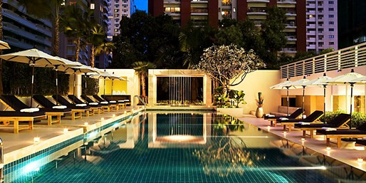 £45 -- Bangkok: 4-Star Hotel w/Late Checkout, Save 43%