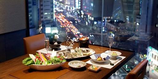 ¥165 -- 6.9折 东京银座和牛A5级日式火锅含饮料  私密包间享午餐或晚餐