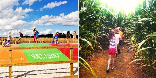 $5 -- Fall Fun: Corn Maze & Family Games, Reg. $9
