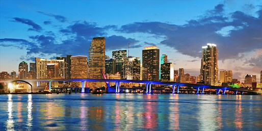 $22 -- Miami Skyline Cruise with Drink at Sunset, Reg. $35