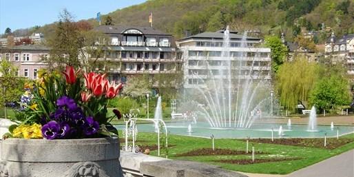 89 € -- 3 Tage Bad Kissingen mit Upgrade & Menüs, -57%