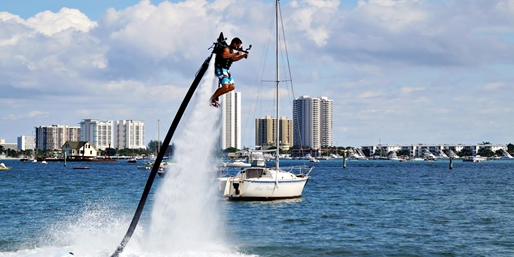 $149 -- Jet Pack Flight Over Biscayne Bay, Save 40%