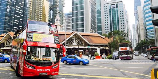 ¥284 -- 新加坡夜间动物园门票 敞篷双层巴士一日游览 可欣赏动物