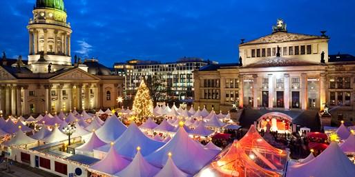 19 € -- Weihnachtszauber Berlin: Lichterrundfahrt für 2