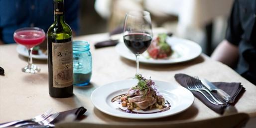 $39 -- Artisan's Table: Award-Winning Dinner for 2, Half Off