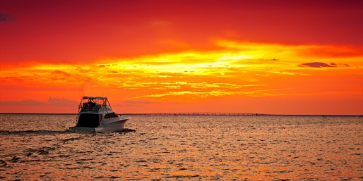 $150 -- 2-Hour Private Sunset Charter for 4, Save 50%