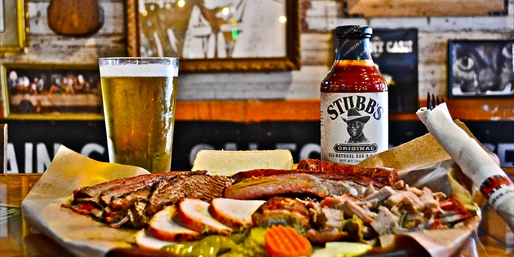 $9 -- Half Off Stubb's Bar-B-Q at the Mean Eyed Cat