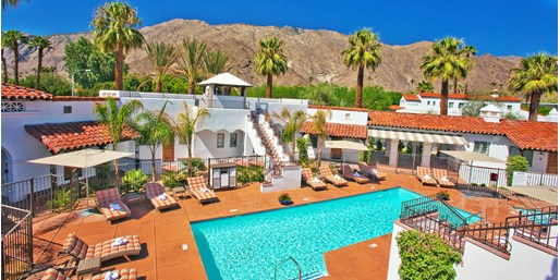 Travelzoo Deal: $89 -- Palm Springs 4-Star Boutique Hotel w/$55 in Extras