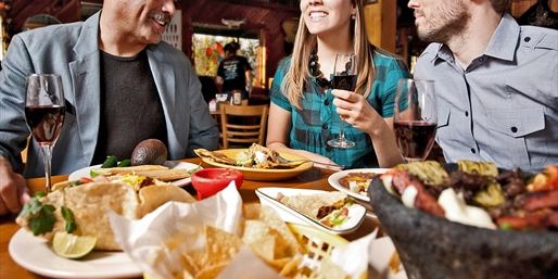 $39 -- Mexican Dinner or Lunch w/Margaritas for 2, 50% Off