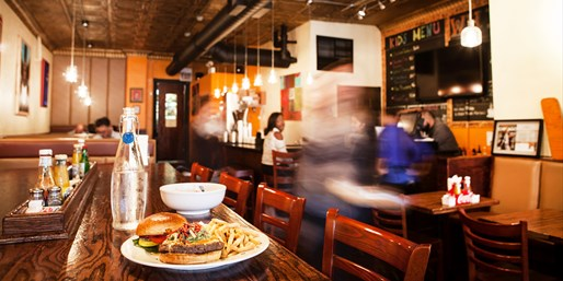 $20 -- Chicago Mag-Praised Burgers or Breakfast, Reg. $40