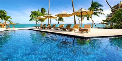 £159 -- Koh Samui: 3-Nt Break w/Upgrade & Massage, Was £483