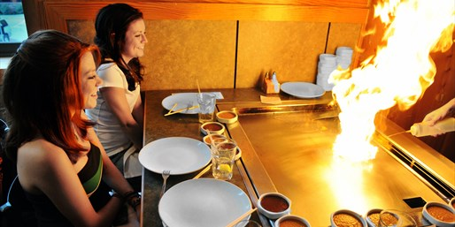 4-Star Hibachi Feast w/Sake & Beer for 2, Save 50%
