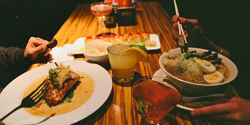 $10 & up -- Zagat-Praised Moksa: Lunch or Dinner for 2