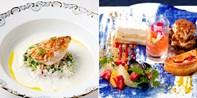 ¥489 -- 5折 特选黑毛和牛及筑地鲜鱼等8道式料理 使用餐具之王Meissen餐具用餐