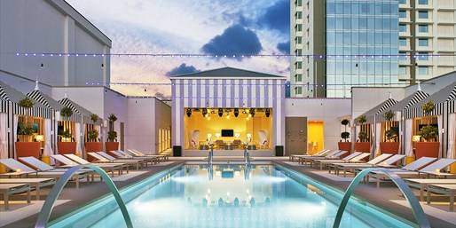 $199 & up -- New SLS Hotel: Spa Day w/Massage, Facial & Pool