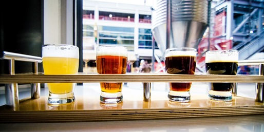 $19 -- 'Outstanding' Brewery: Craft Beer & Popcorn for 2