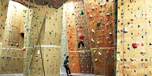 $25 -- 'Best Indoor Rock Climbing': Intro Class, Reg. $58