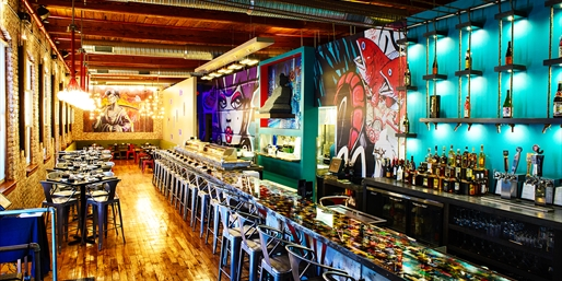 $25 -- Uptown's New Sushi Spot: Half Off Dinner & Drinks