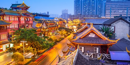 Travelzoo Deal: $160 -- China: Suite at Top-Rated Chengdu Hotel, Reg. $250