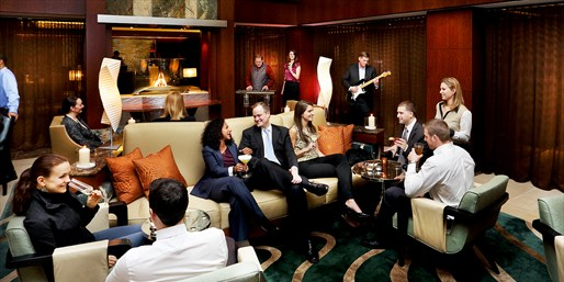 $35 -- Weekend Jazz & Wine at Waterfront Battery Wharf Hotel