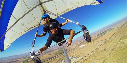 Sunset Tandem Hang-Gliding Flight, Save 50%