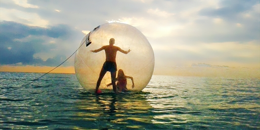 $26 -- Hollywood Beach Bubble: Walk in a Bubble on Water