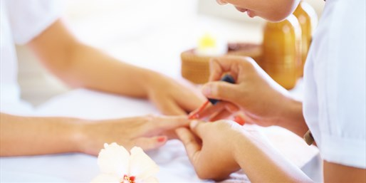 $35 -- Spa Manicure & Pedicure, Half Off
