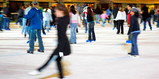 $12 -- Winter in the Park: Ice Skating for 2, Save 50%