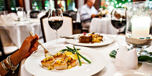 $59 -- Maison Martinique: French Dinner for 2, Save 45%