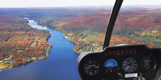 $49 -- Helicopter Tour over The Laurentians, Half Off