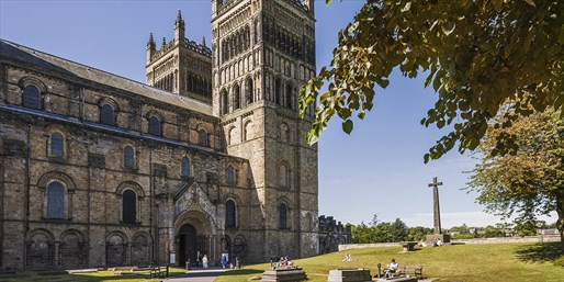 £10 -- Durham Cathedral: Tour & Tower Entry for 2, 50% Off