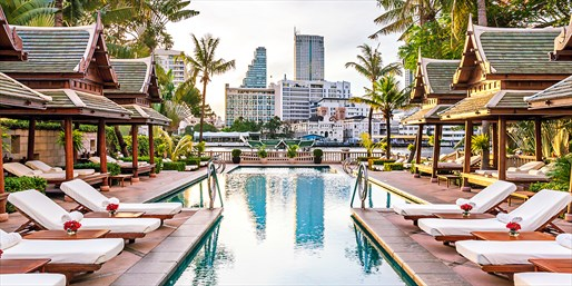 Travelzoo Deal: $289 -- Thailand: Luxe Bangkok Hotel w/Breakfast, 35% Off