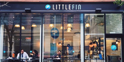 Lunch or Dinner at Zagat-Praised Little Fin, Save 50%