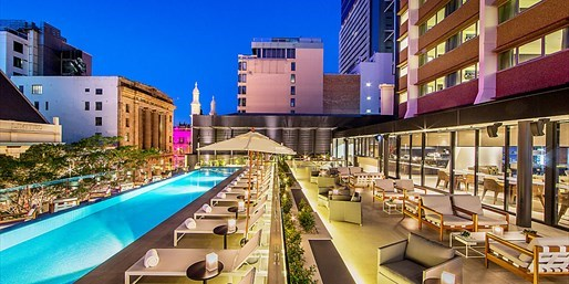£83 -- High-Tech New Brisbane Hotel, up to 50% Off