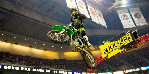 $15 -- Kicker Arenacross Series: Admission for 2, Reg. $32