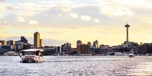 $39 & up -- Ride the Ducks: Land & Water Tours of Seattle