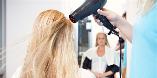 $19 -- Blowout & Style at Gayot-Praised Salon, 45% Off